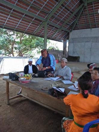 Rapat Panitia Ngenteg Linggih Desa Bongancina