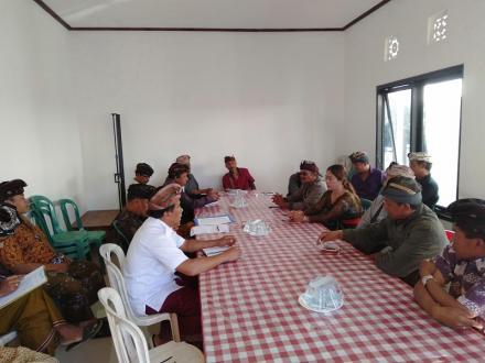 Penetapan Pengurus dan Penyerahan Administrasi Lumbung Desa