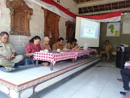 Sosialisasi Permendagri No 81 tahun 2015 Tentang Evaluasi Perkembangan Desa
