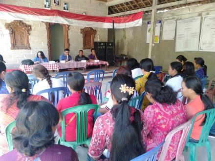 Pertemuan Kelompok Kampung KB