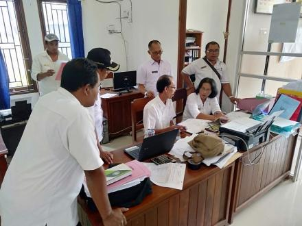 Pembinaan kearsipan Oleh Dinas Arsip Kabupaten Buleleng