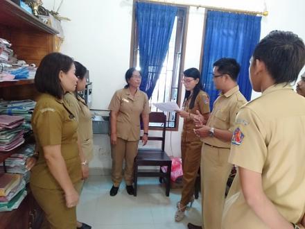 Monitoring Evaluasi dari Kearsipan Dinas Kabupaten Buleleng